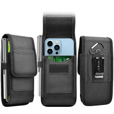 £4.79 • Buy Belt Clip Pouch Holster Wallet Card Slot Case For IPhone 13 12 11 Pro Max XS 8 7
