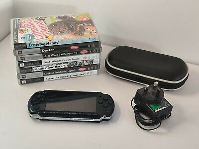 £30 • Buy Psp 3003 Console + 7 Games + Case