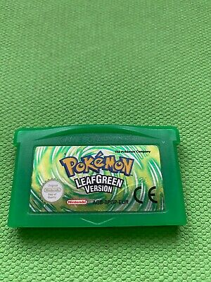 $75 • Buy Pokemon Leaf Green Authentic Gameboy Advance Game  English Version