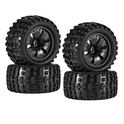 £22.69 • Buy 4 Pcs 1/10 Climbing RC Car Truck Wheels Tyre For HPI Savage LRP MT Parts