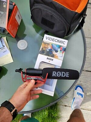£80 • Buy Rode  VideoMic  Microphone With Rycote Lyre