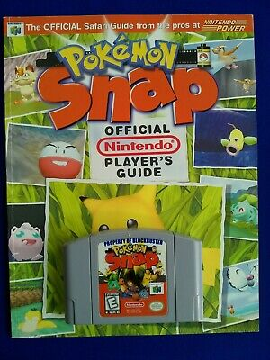 $40 • Buy Pokemon Snap For Nintendo 64 N64 With Nintendo Power Strategy Guide