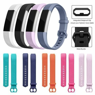 AU3.04 • Buy Silicone Replacement Watch Band Bracelet Strap For Fitbit Alta / Fitbit Alta HR