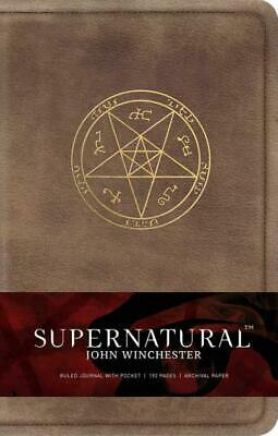 £17.57 • Buy Insight Editions ~ Supernatural: John Winchester, Ruled Journal 9781683830740