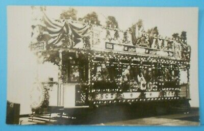 £6.50 • Buy RP Postcard C.1910 TRAM DECORATED FOR CORONATION SALFORD LANCASHIRE