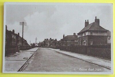 £6.50 • Buy R.A.P. Co Postcard C.1935 ROSCOE ROAD IRLAM SALFORD MANCHESTER LANCASHIRE