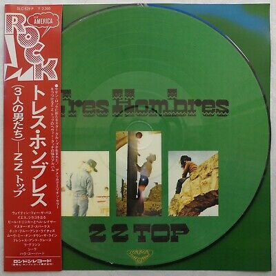 £43.64 • Buy ZZ TOP 'Tres Hombres' Japanese Vinyl Picture-disc LP, With OBI Insert