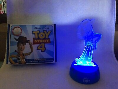 £4.99 • Buy  DISNEY PIXAR TOY STORY 4 Sheriff Woody Colour Changing Laser Etched Nig