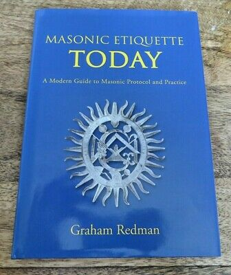 £2.30 • Buy Signed 2010 Masonic Etiquette Today Book (102)