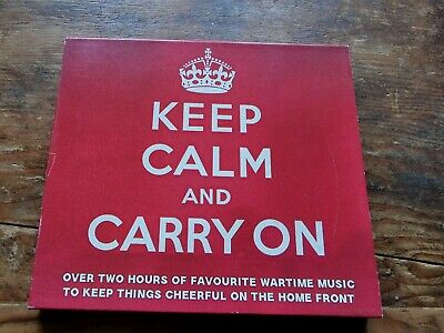 £1 • Buy Keep Calm And Carry On Double CD. Wartime Music