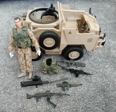 £19.99 • Buy HM Armed Forces PATROL VEHICLE And Figure Toy Action Man