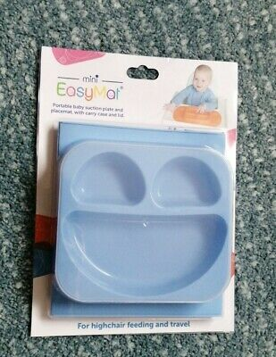 £9.50 • Buy Easymat Mini Divided Suction Plate For High Chair And Travel, RRP £17