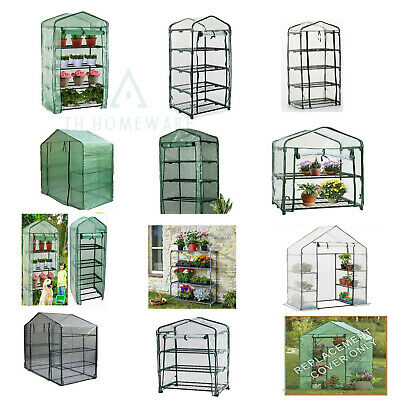 £14.95 • Buy Greenhouse PE Or PVC Plastic Outdoor Garden Covers Sheld Green House Shelves New