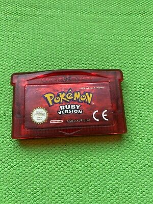 $60 • Buy Authentic Pokemon Ruby Gameboy Advance Game Only With New Battery