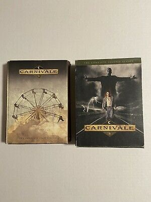 £20.47 • Buy Carnivale - The Complete First And Second Season (DVD, Disc Set)