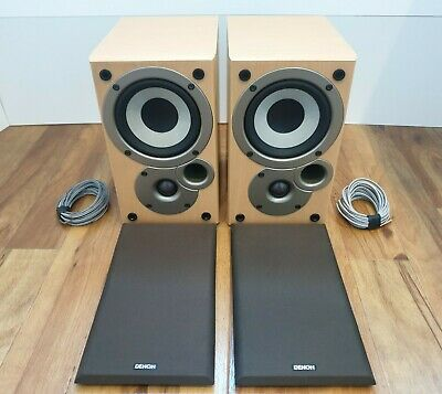 £54.95 • Buy Pair Of Denon Speakers SC-M50 By Mission - Lovely Tested Condition!