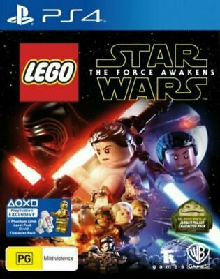 AU26.95 • Buy Lego Star Wars - The Force Awakens (PlayStation 4 PS4) Fast Express Postage