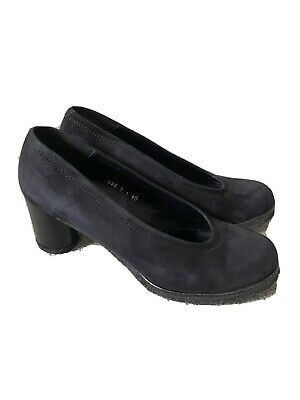 £2.30 • Buy Audley Black Suede Court Shoes Size 7