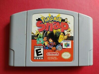 $18.50 • Buy Pokemon Snap 📸 (Nintendo 64, 1999) N64 Game Authentic & Tested Cartridge Only