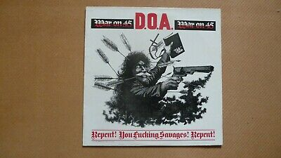£14.99 • Buy Doa - War On 45 - Repent - You Savages  Repent - 1982.