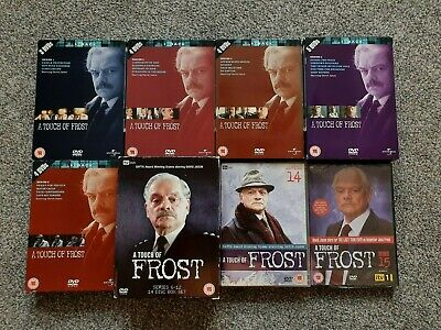 £12.50 • Buy A Touch Of Frost Complete Series 1-15 Dvd Set Genuine Uk