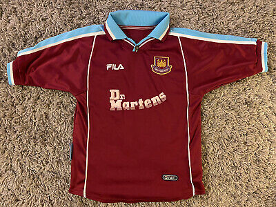 £14.99 • Buy West Ham United 1999-2001 Home Football Shirt - Size MB