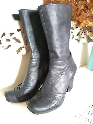£17 • Buy Audley Lima Black Boots Excellent 6 With Box Leather Lined London Made In Spain