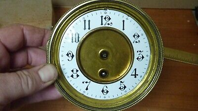 £18 • Buy  Antique French Clock Timepiece Movement & Dial--working  (b)