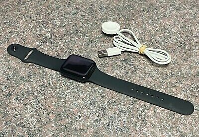 AU178.50 • Buy Apple Watch SE 44mm Space Grey With Black Sport Band GPS Only