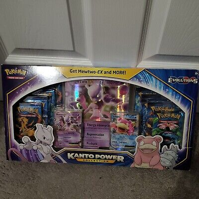 $259.83 • Buy Pokemon Mewtwo Kanto Power Collection Box - 10 X Evolutions Booster Packs!
