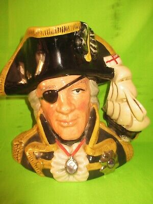 £57 • Buy Royal Doulton Large Character Jug Vice-Admiral Lord Nelson D6932- 6.5  Tall