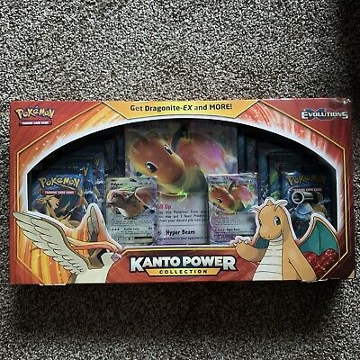 $170 • Buy Pokemon TCG XY Evolutions Kanto Power Collection Dragonite EX Factory Sealed!🔥