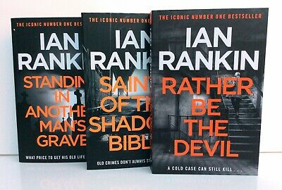 £10.25 • Buy Rebus 3 Book Collection,  Saints Of Shadow Bible, Another Man's Grave Ian Rankin