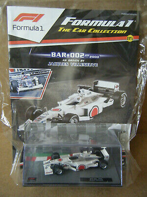 £19.99 • Buy Panini F1 Collection  BAR 002 -2000 . Jacques Villeneuve 1:43. New & Sealed.