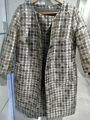 £35 • Buy  Dress (M) And 3/4 Lth Sleeve Coat  Jacket (L) 12/14 Wedding Outfit Suit