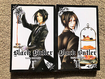 £18 • Buy Black Butler Manga - Volumes 1&2 - Excellent Condition - By Yana Toboso - New