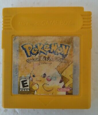 $34.99 • Buy Pokemon Yellow Gameboy Color 1999  GBC *AUTHENTIC* - ONLY THE GAME CARTRIDGE