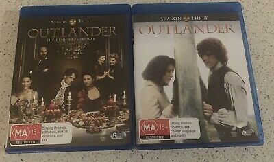 AU20 • Buy Outlander Blu Ray Disc Series 2 And 3