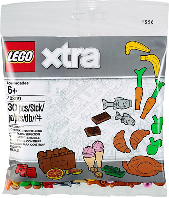 £5.99 • Buy LEGO - Xtra Food Accessories Polybag 40309 - New & Sealed [Retired]
