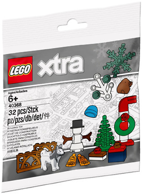 £6.49 • Buy LEGO - Xtra Christmas Accessories Polybag 40368 - New & Sealed [Retired]