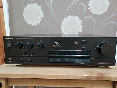 £9.99 • Buy Technics SU-V450 Amplifier Class AA VC-4 Stereo Integrated AUX/CD/TUNER Etc.....