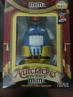 £7.24 • Buy M&M's Blue Nutcracker Christmas Holiday Collectible Chocolate Candy Dispenser