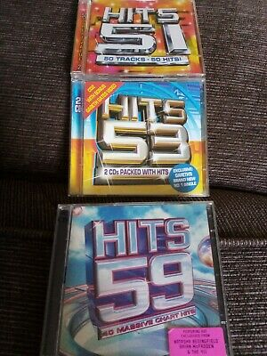 £1.49 • Buy Joblot, Hits 51,53,59,very Good Condition, Pop And Chart Music, Classic Tracks