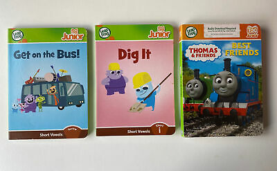 £6.50 • Buy 3 X Leap Frog Tag Junior Books, Thomas & Friends, Get On The Bus, Dig It ….