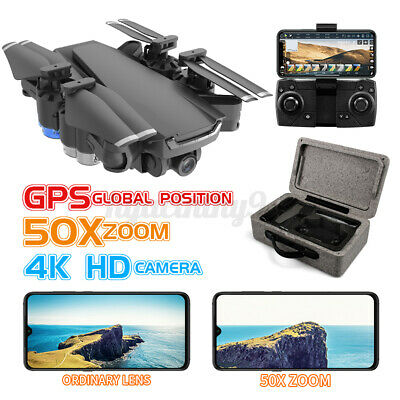 AU99.99 • Buy 5G Drones GPS X Pro With 4K 1080P Camera Follow Me Wifi FPV Quadcopter For Adult
