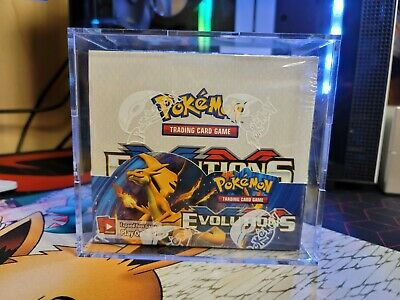 $874.99 • Buy Pokemon TCG: XY Evolutions Sealed Booster Box - Pack Of 36 With Display Case 😀