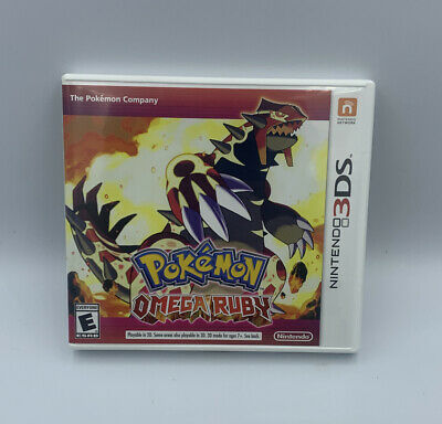$44.99 • Buy Pokemon Omega Ruby (Nintendo 3DS, 2014) CIB / Complete - Authentic - Tested