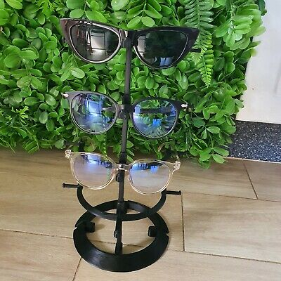 AU29.50 • Buy New 3D Printed Sunglasses Display Stands BLACK Color Oakley  4 Tier
