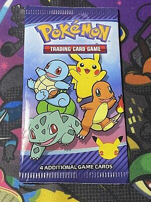 $4.49 • Buy Pokemon 25th Anniversary McDonald's Special Promo Sealed Booster Pack