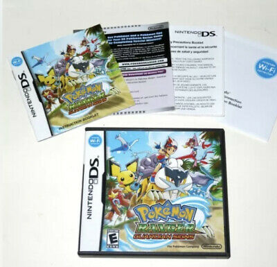 $23.99 • Buy Nintendo DS 2010 POKEMON RANGER: Guardian Signs Case & Manual Only No Game